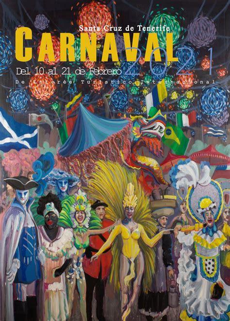 Cartel del Carnaval 2021 Santa Cruz de Tenerife
